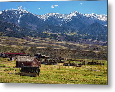 Like An Old Western Movie Metal Print by James BO Insogna