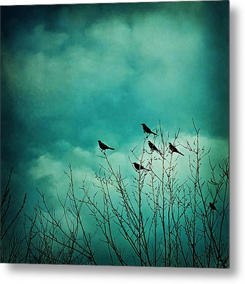Like Birds On Trees Metal Print by Trish Mistric