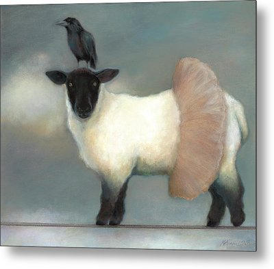 ...like Lambs.. Metal Print by Katherine DuBose Fuerst