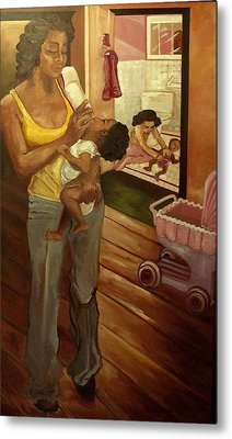 Like Mommy Metal Print by Amira Najah Whitfield