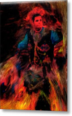 Lila Wakan Dancin For A Better World Metal Print