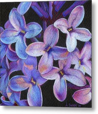 Lilac 3 Metal Print by Audi Swope