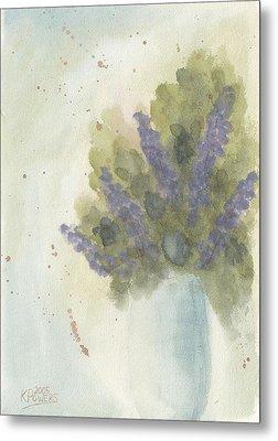 Lilacs Metal Print by Ken Powers