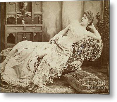 Lillie Langtry (1852-1929) Metal Print by Granger