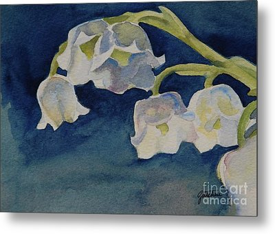 Lilly Of The Valley Metal Print by Gretchen Bjornson
