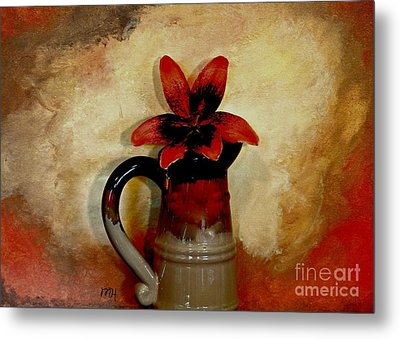 Lily Lovely Metal Print