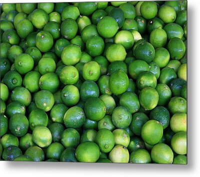 Metal Print featuring the photograph Limes by David Dunham