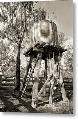 Metal Print featuring the photograph Limited Water Supply by Linda Lees