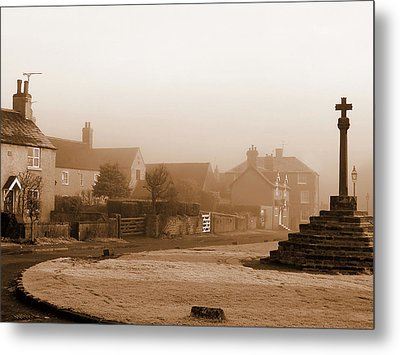 Linby Village Metal Print by Graham Taylor