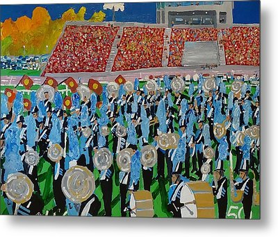Lincoln Band Metal Print by Rodger Ellingson