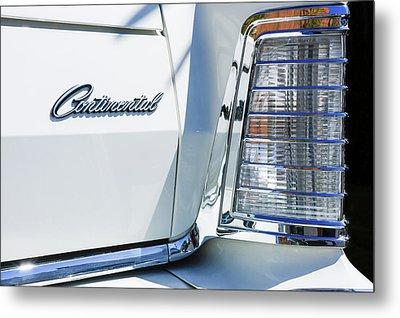 Lincoln Continental Mark Iv Head Light -0149c Metal Print