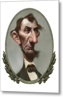 Lincoln Metal Print by Court Jones