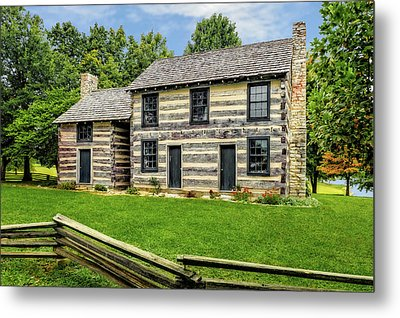 Lincoln Heritage House Elizabethtown Kentucky Metal Print by Frank J Benz