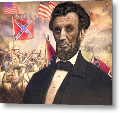 Lincoln Metal Print by Mark Allen