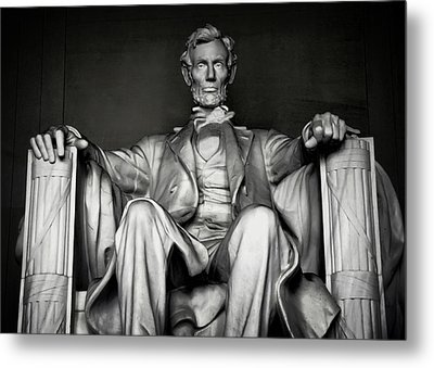 Lincoln Memorial Metal Print by Daniel Hagerman