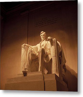 Lincoln Memorial Metal Print by Gene Sizemore