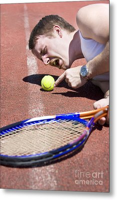 Line Ball Call Metal Print by Jorgo Photography - Wall Art Gallery