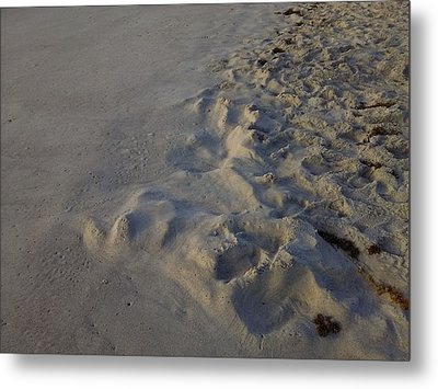 Line In The Sand Metal Print by Richard Barone