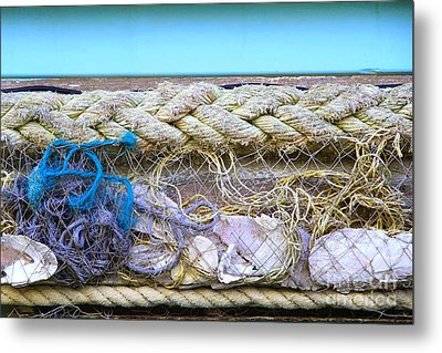 Metal Print featuring the photograph Line Of Debris II by Stephen Mitchell