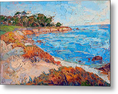 Line Of Monterey Metal Print by Erin Hanson