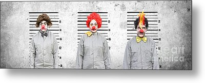 Line Up Of The Usual Suspects Metal Print