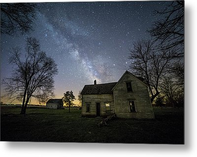 Metal Print featuring the photograph Linear by Aaron J Groen