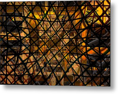Linear Contingency Metal Print by Don Gradner
