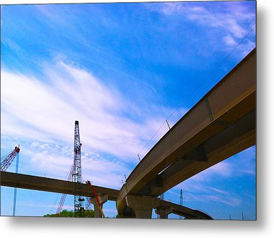 Metal Print featuring the photograph Lineing The Sky by Jamie Lynn