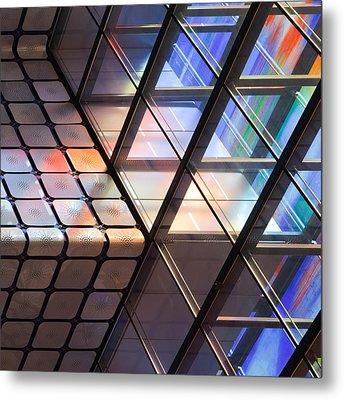 Lines & Colours Metal Print by Jeroen Van De Wiel