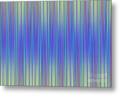 Metal Print featuring the digital art Lines 103 by Bruce Stanfield