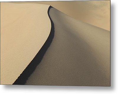 Lines In The Sand. Metal Print by Johnny Adolphson
