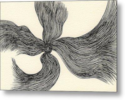 Lines - #ss13dw023 Metal Print by Satomi Sugimoto