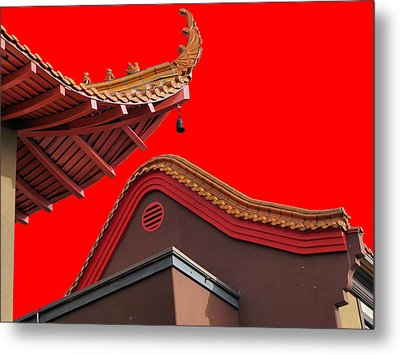 Lingyen Mountain Temple 38 Metal Print by Lawrence Christopher