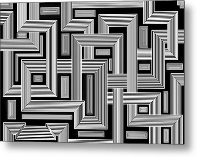 Links Too Metal Print by Christopher Rowlands