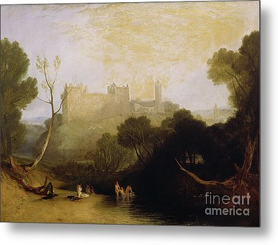 Linlithgow Palace Metal Print by Joseph Mallord William Turner