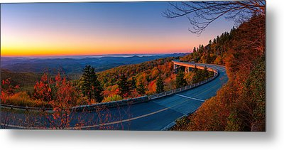 Linn Cove Viaduct Metal Print by Taylor Franta