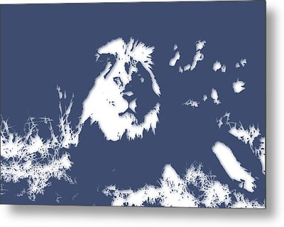 Lion 2 Metal Print by Joe Hamilton