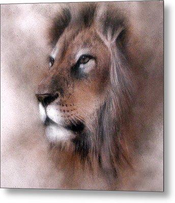 Lion King Metal Print by Jackie Flaten