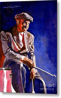 Lionel Hampton  Metal Print by David Lloyd Glover