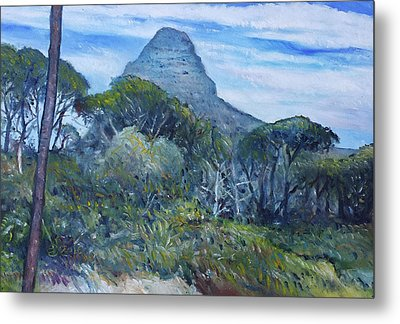 Lions Head Cape Town South Africa 2016 Metal Print by Enver Larney