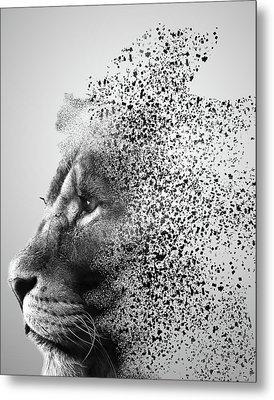 Lions Mind Metal Print