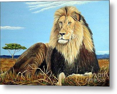 Lions Pride Metal Print