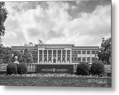 Lipscomb University Burton Health Sciences Center Metal Print by University Icons