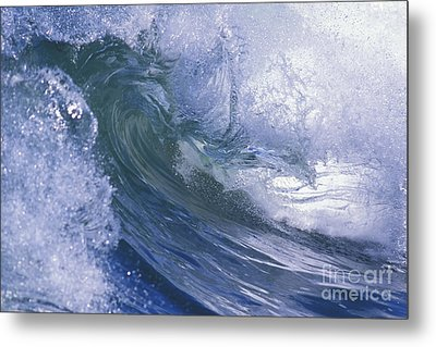 Liquid Crystal Metal Print by Stan and Anne Foster