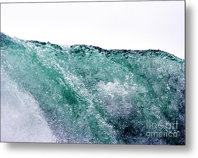 Metal Print featuring the photograph Liquid Horizon by Dana DiPasquale