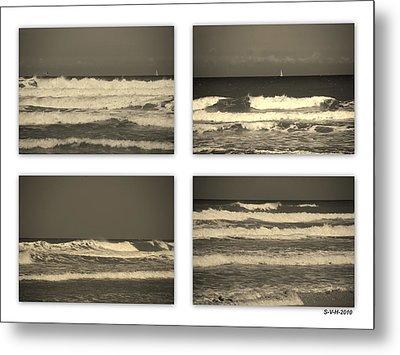 Listen To The Song Of The Ocean Metal Print by Susanne Van Hulst
