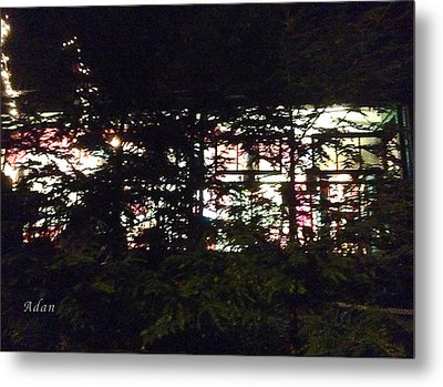 Metal Print featuring the photograph Lit Like Stained Glass by Felipe Adan Lerma