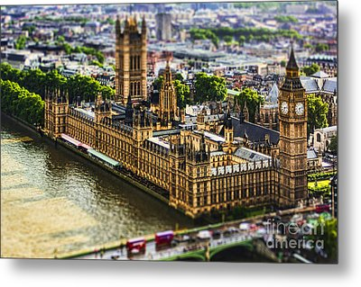 Little Ben Metal Print by Andrew Paranavitana