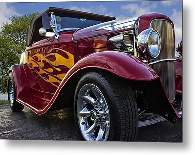 Metal Print featuring the photograph Little Deuce Coupe by Skip Tribby