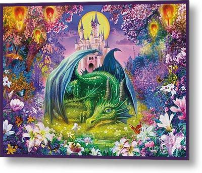 Little Dragon Metal Print by Jan Patrik Krasny